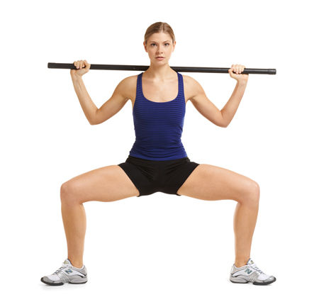Work your Glutes Gracefully - the Plié Squat - hungry and fit