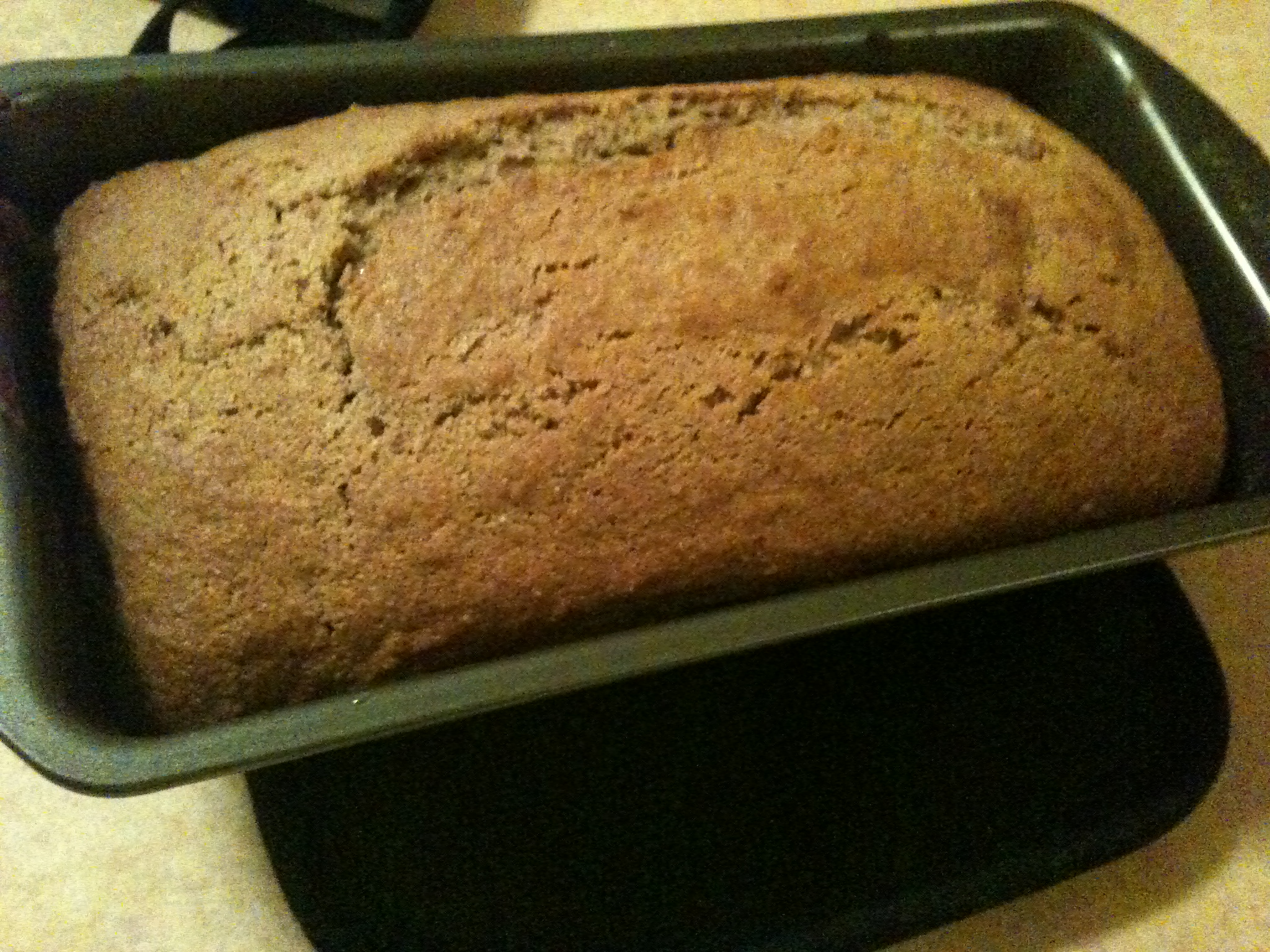 Baked Banana Bread!