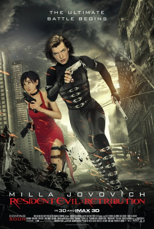 Movie Review Resident Evil Retribution Hungry And Fit