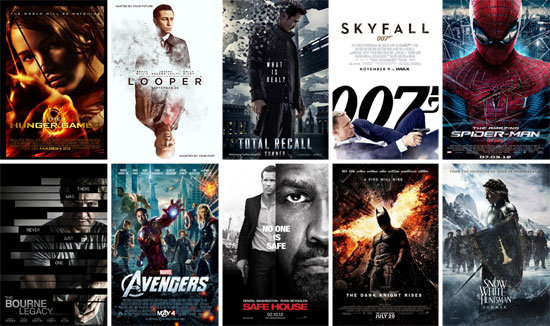 Some movies of 2012