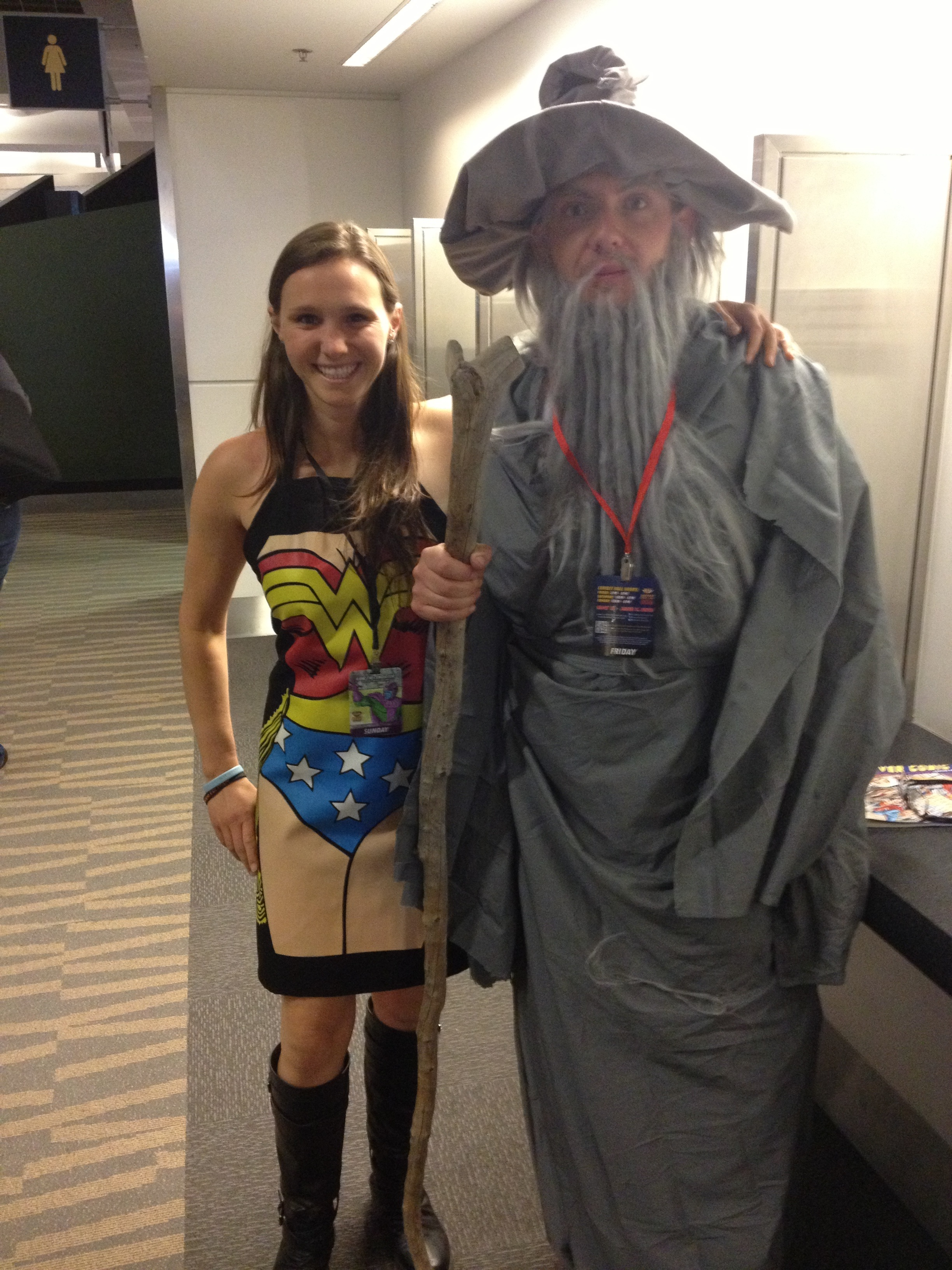 Gandalf! Literally hunted him down the whole time and finally found him