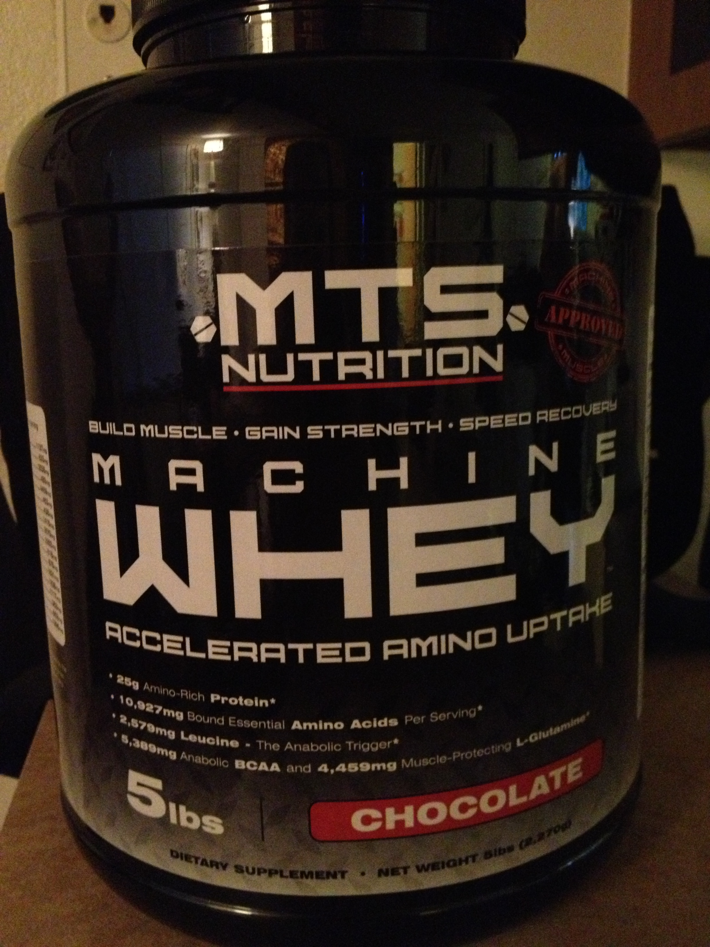 The protein I'm using
