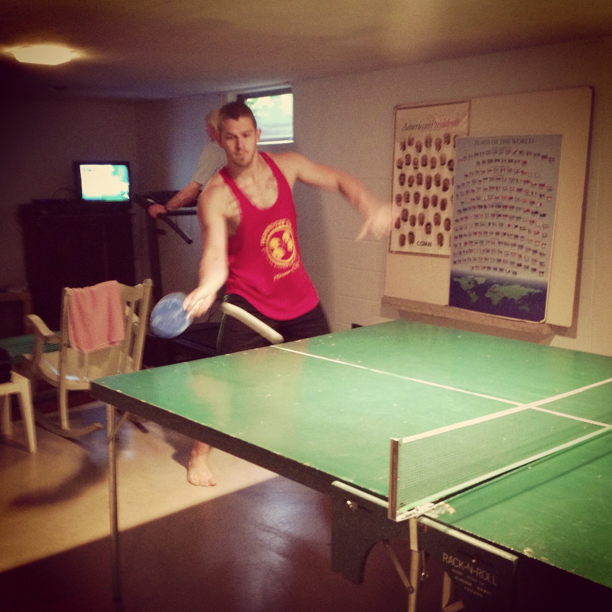 Ping pong all day err day