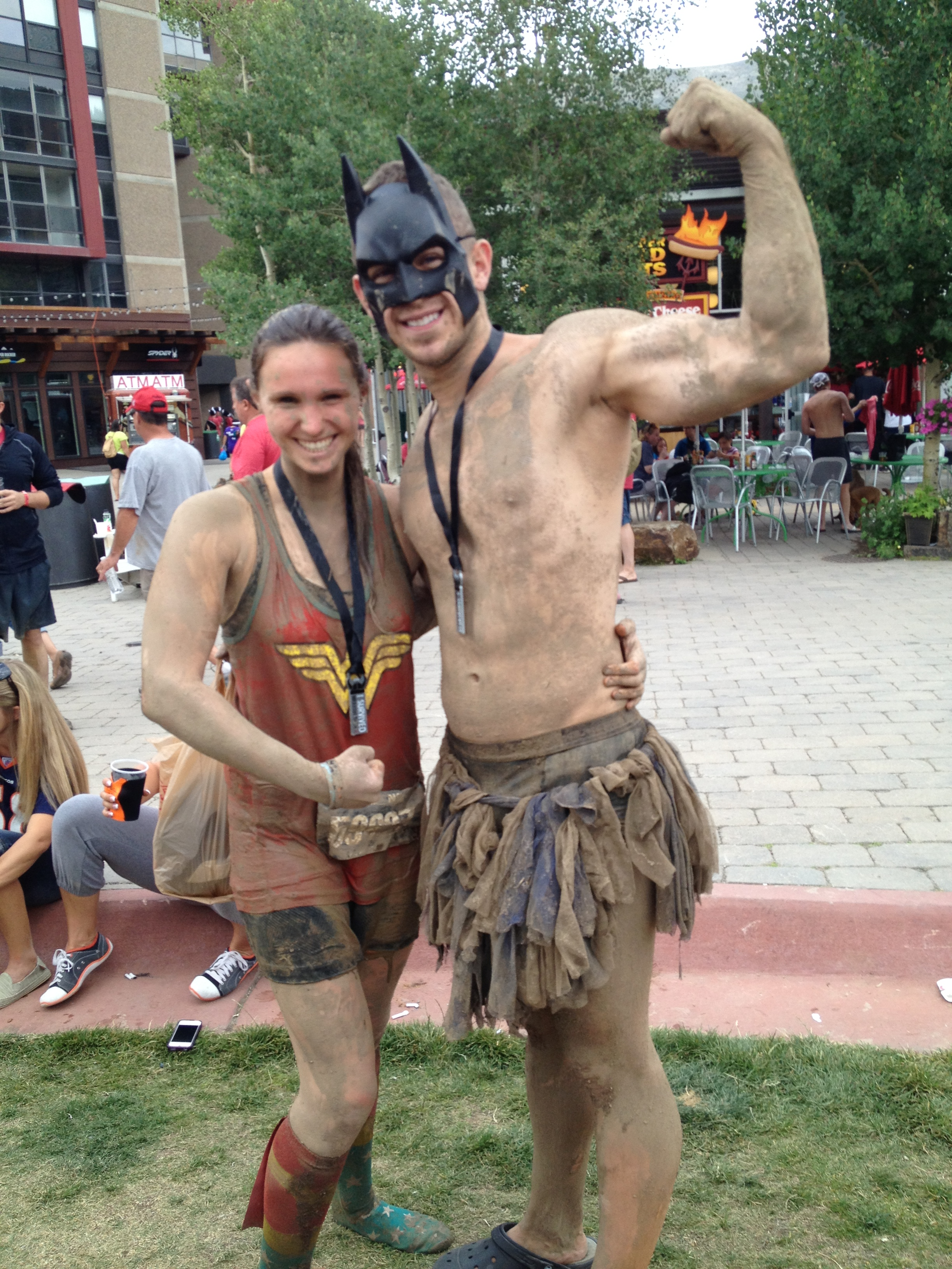 """After"" pic of Batman & Wonder Woman"