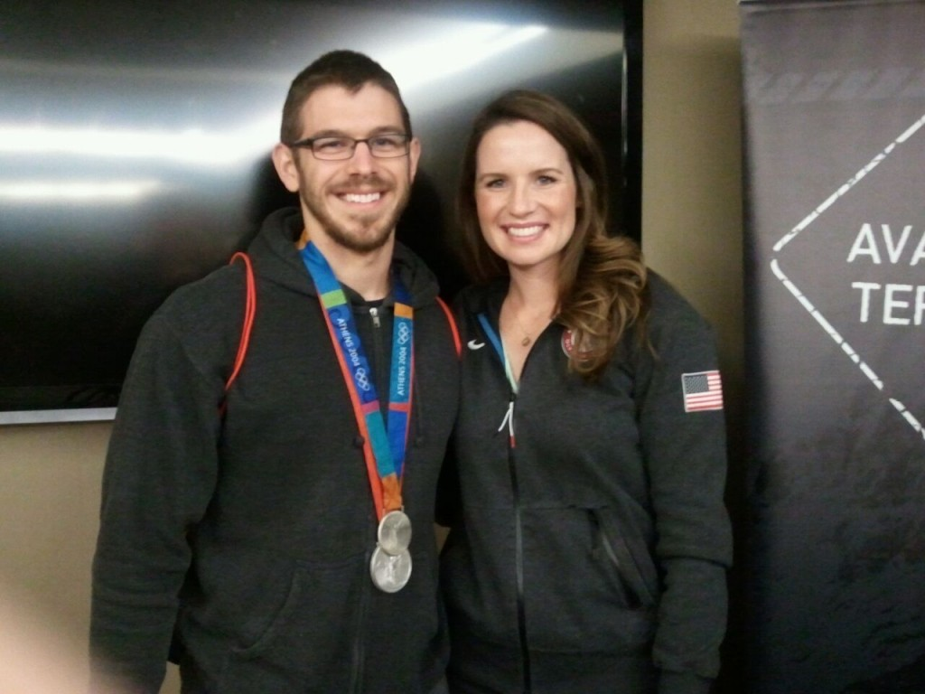 Using Olympians as motivation for my own swimming