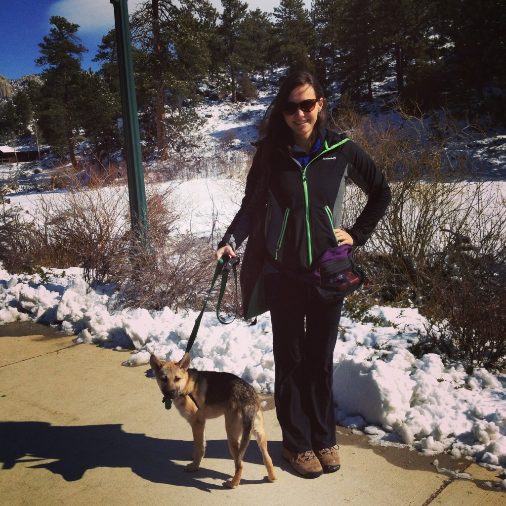 A trip to Estes Park!! (yes that is a fanny pack)