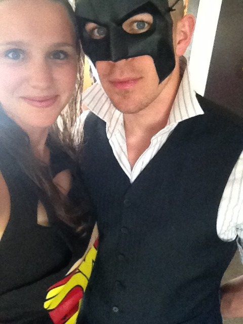 Hungry and Fit at the 2014 Boulder Humane Society Gala...superhero themed obviously!