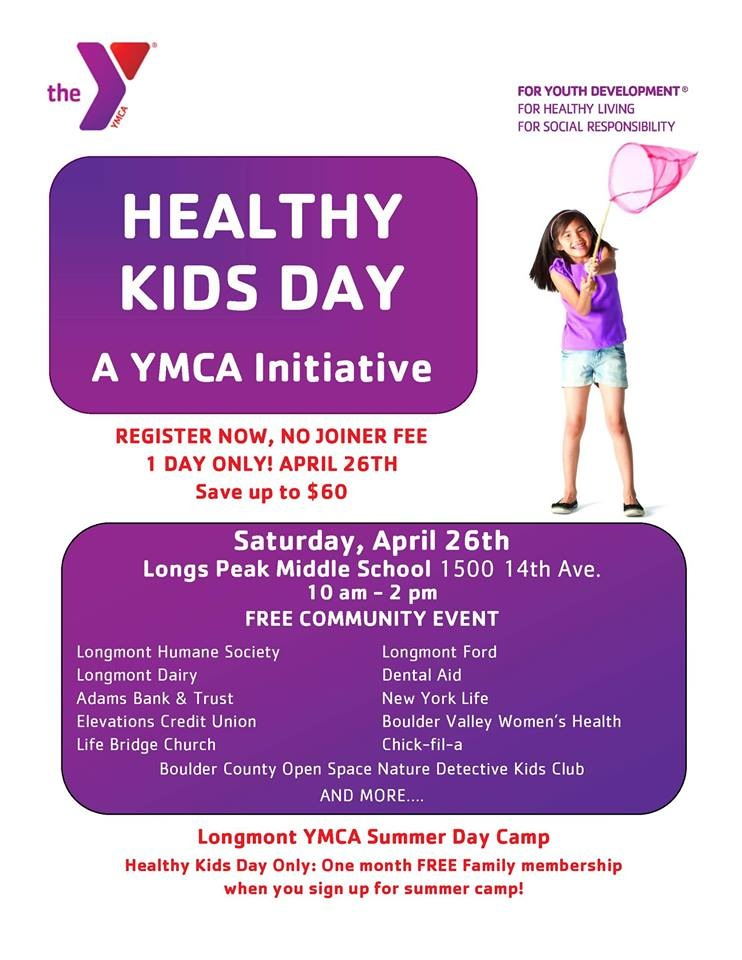 We hosted a Healthy Kids Day!