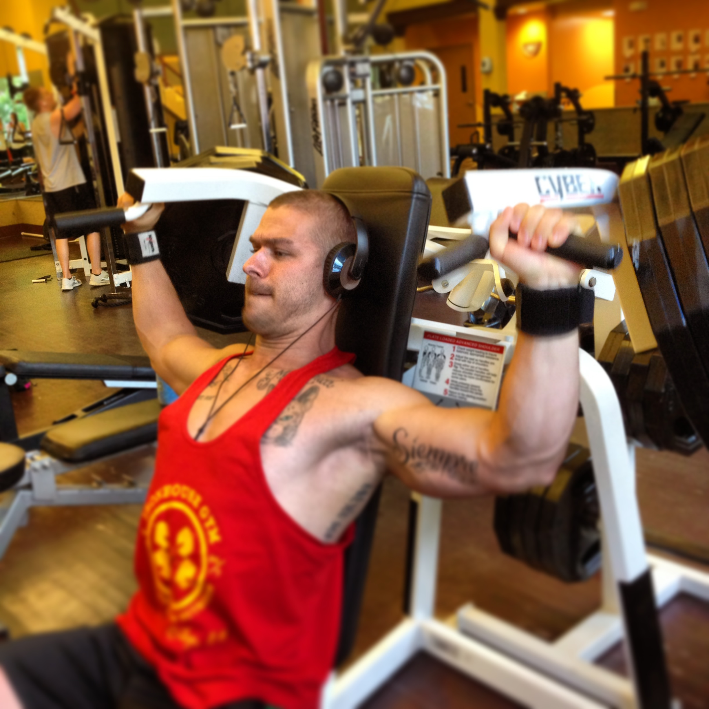 Photo What Is Better Barbell Or Dumbbell Shoulder Press