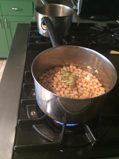 chick pea cooking