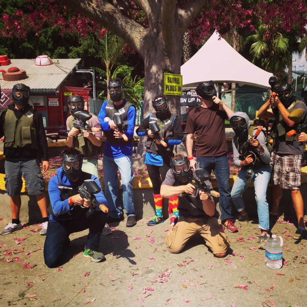 Paintball for brother's birthday