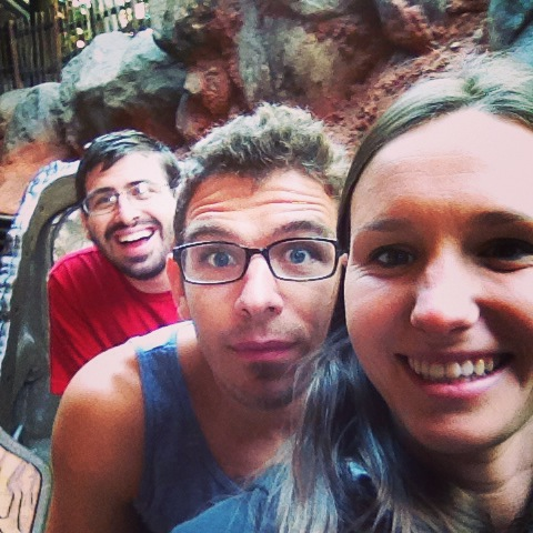 Splash Mountain nice and early!