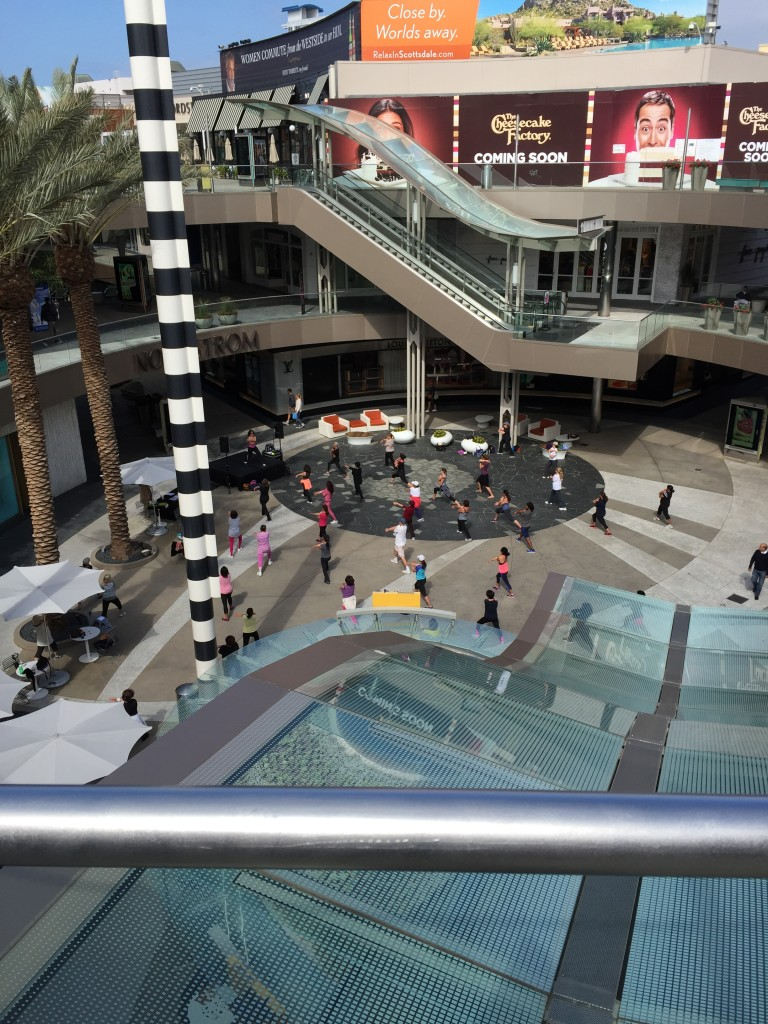Visiting the Santa Monica Place