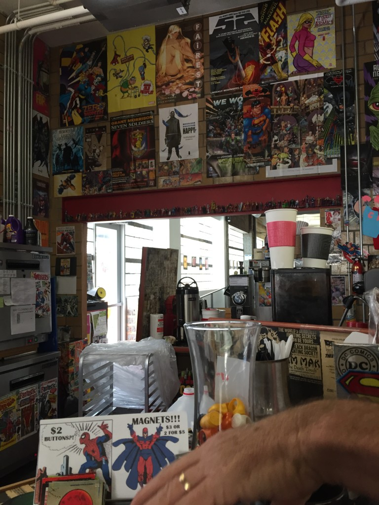 Cool comic book store in Des Moines