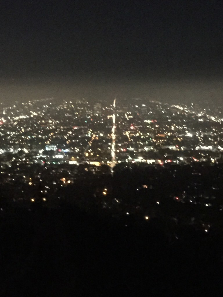 Went up to Griffith park with my good friend, Lena