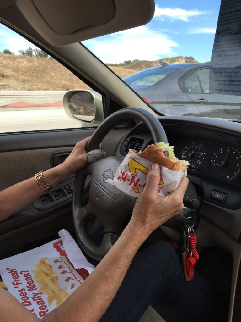 And of course In n Out on the way back too ;)