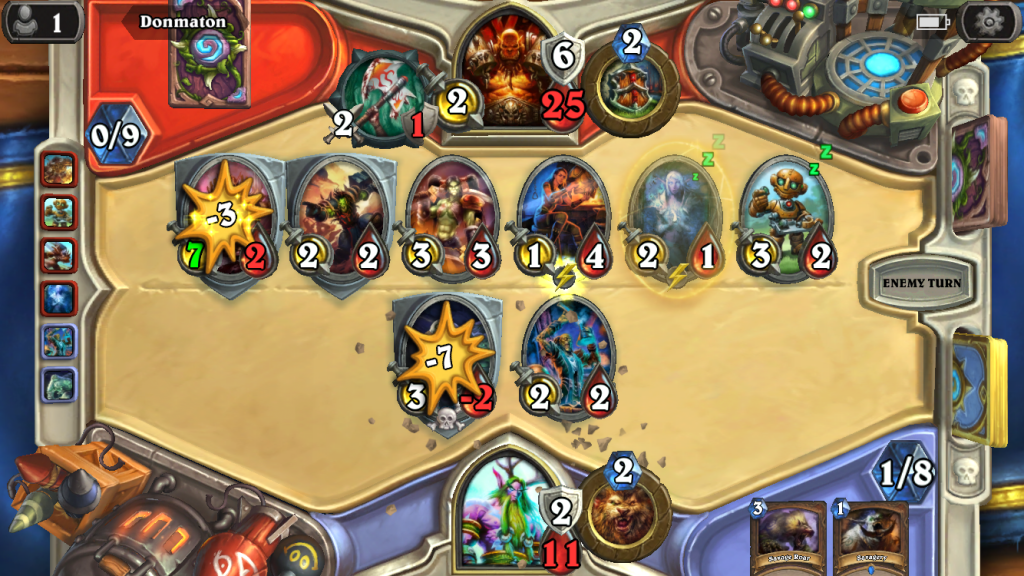 Losing at Hearthstone as per normal