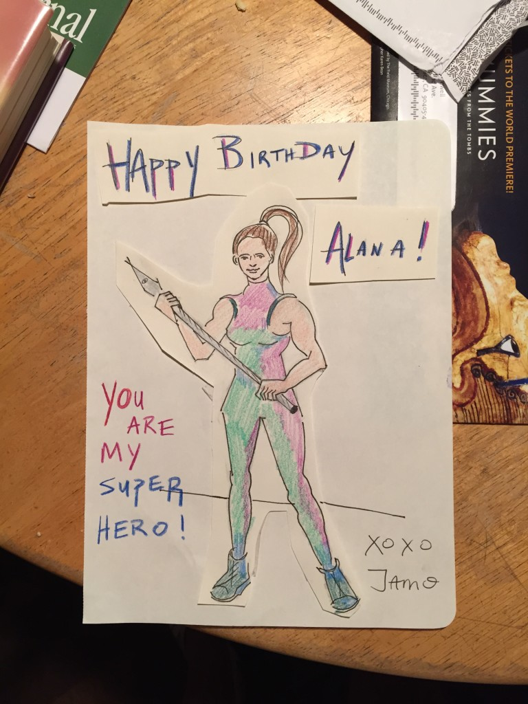 Amazing card from Jamie