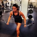 A pic from us working out at the SM YMCA
