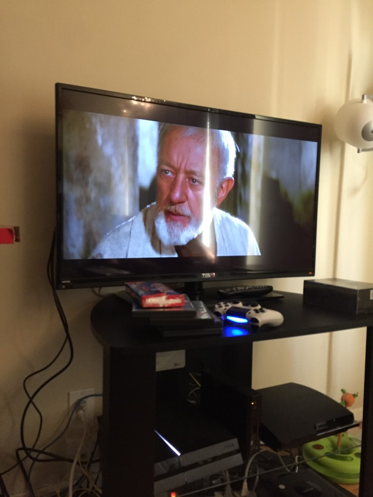 Getting ready for Star Wars