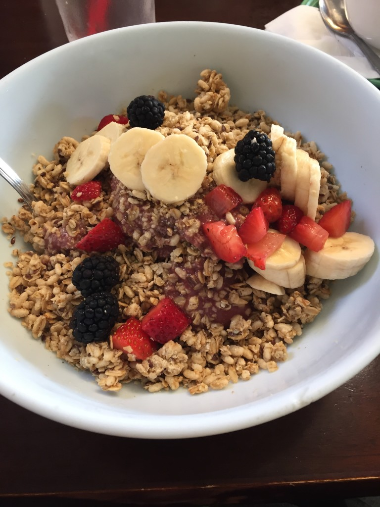 Acai bowls after a group training