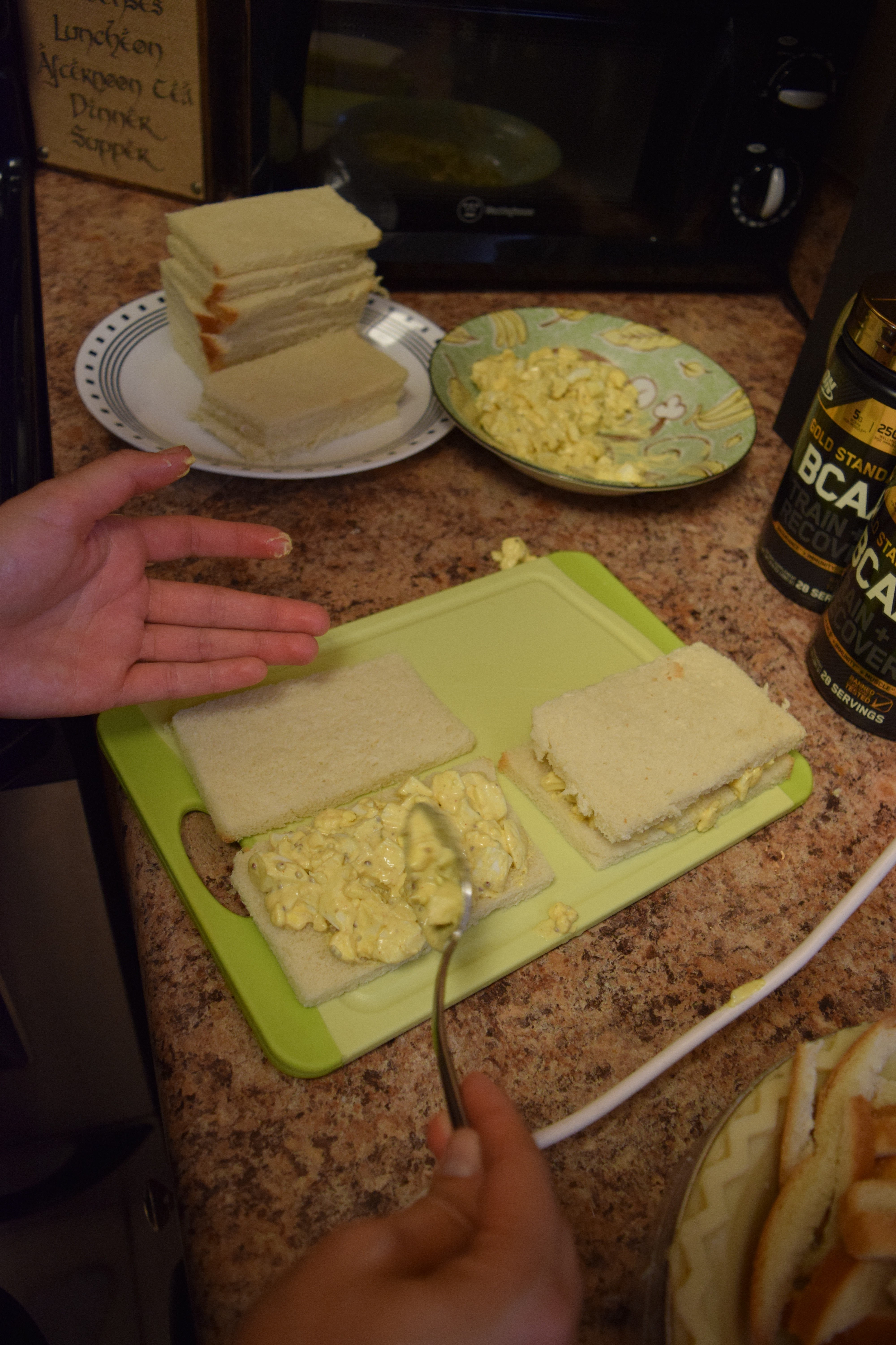 Curried Egg Salad Sandwiches Hungry And Fit