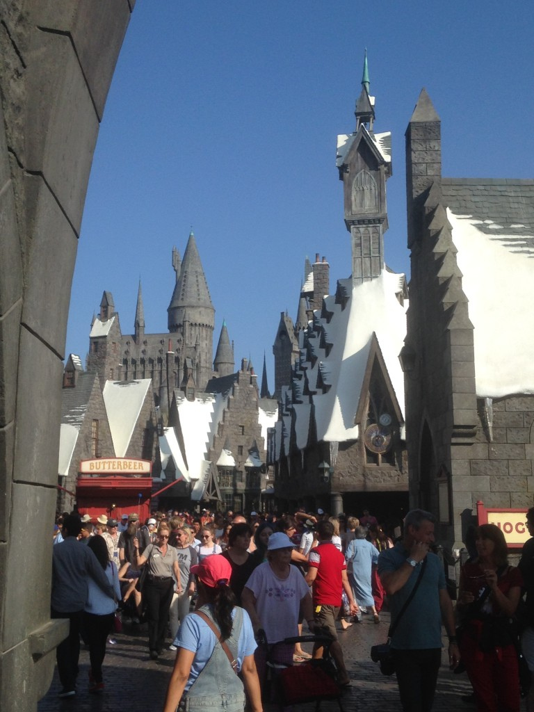 We had an amazing time at the Wizarding World