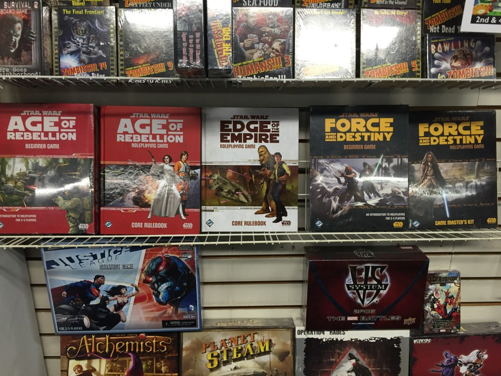 Found a great comic/game store