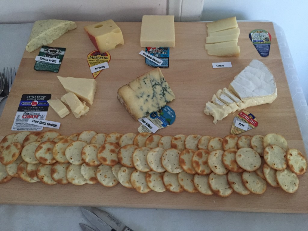 Epic cheese platter