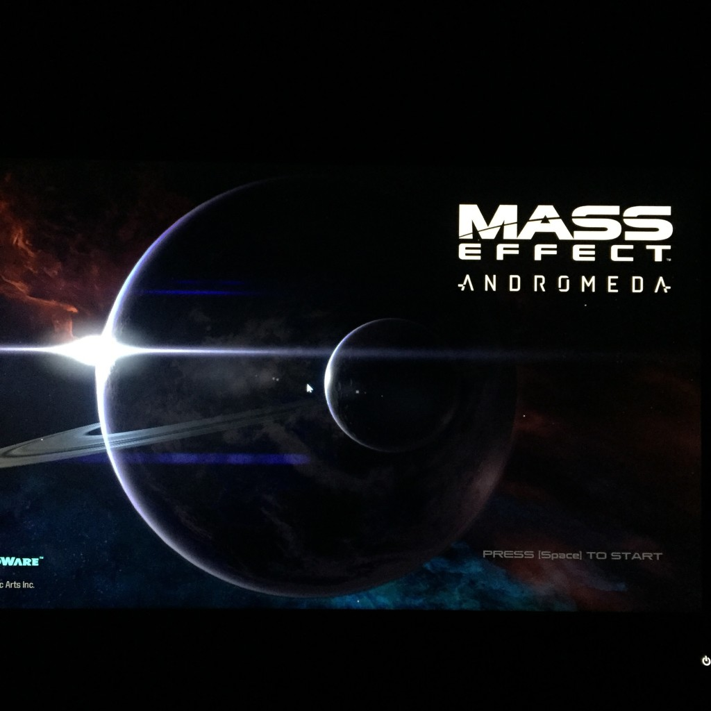 Mass Effect came out this weekend and it took most of our time this weekend