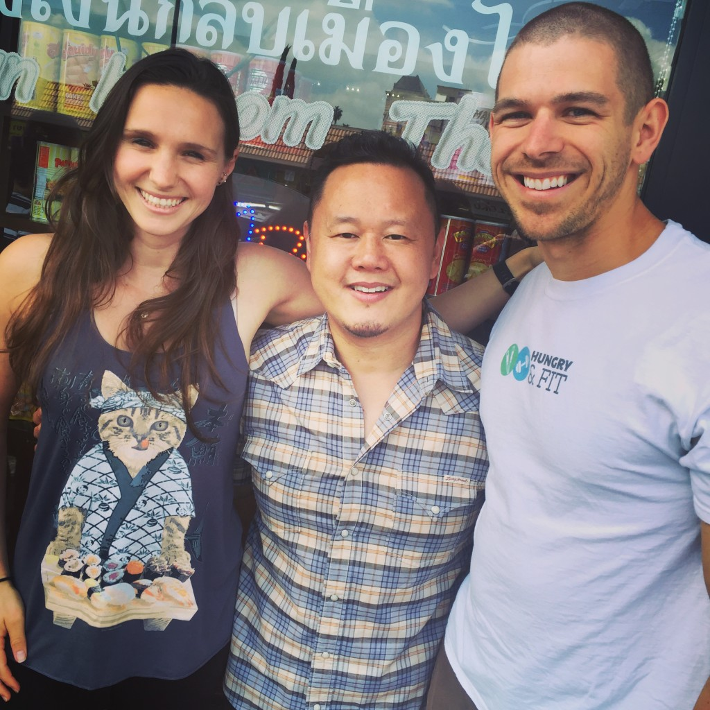 But without a doubt, the highlight of our weekend (and perhaps the year so far) was a Thai Town eating tour with celebrity chef Jet Tila!