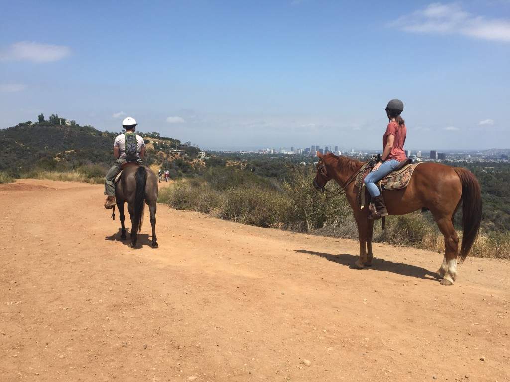 We went horseback riding for our anniversary