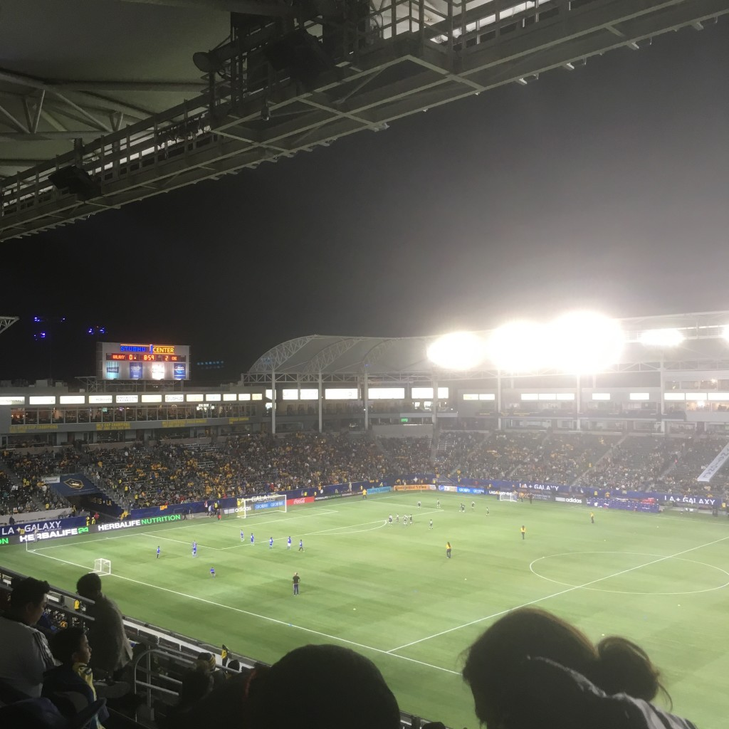 Went to a galaxy game