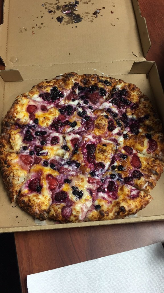 """Fruit pizza"""