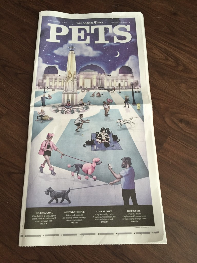 A great piece of the Sunday LA Times