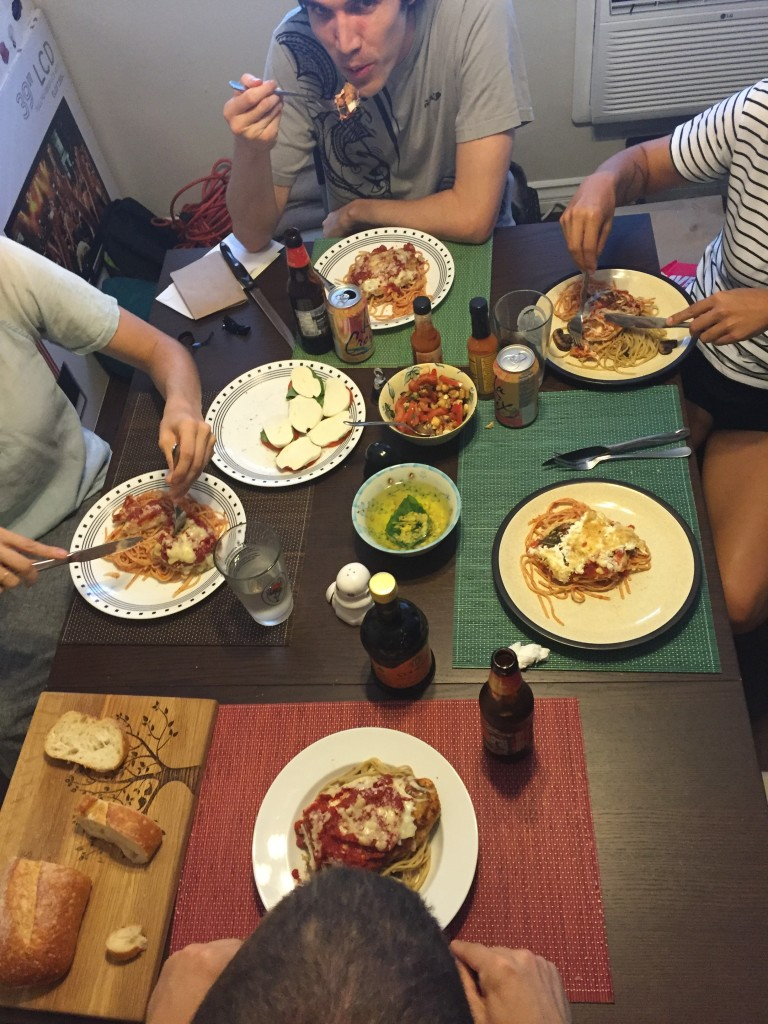 But on the actual day, Hungry made an INCREDIBLE feast