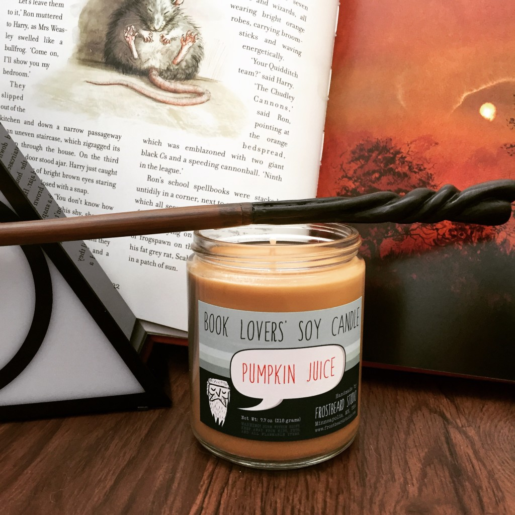 First of October, baby, breaking out the candle!