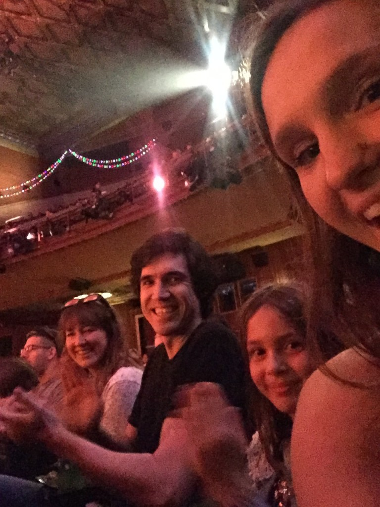Took family to see Nightmare Before Christmas 4D at El Capitan!