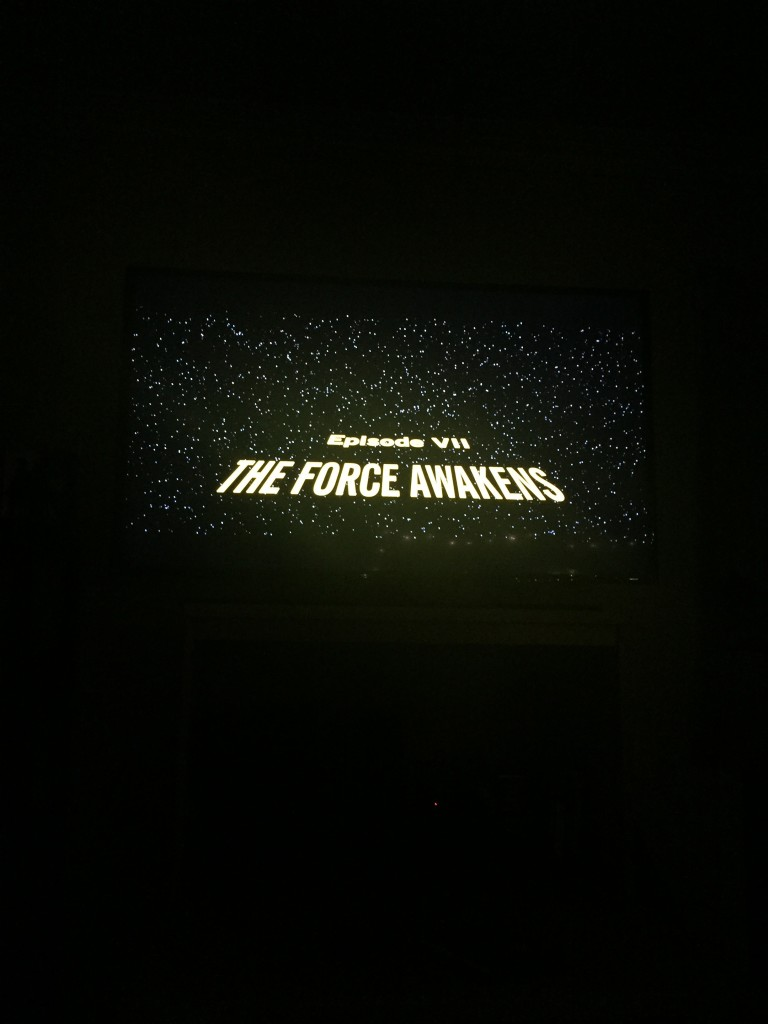 Who watch the Force Awakens with me