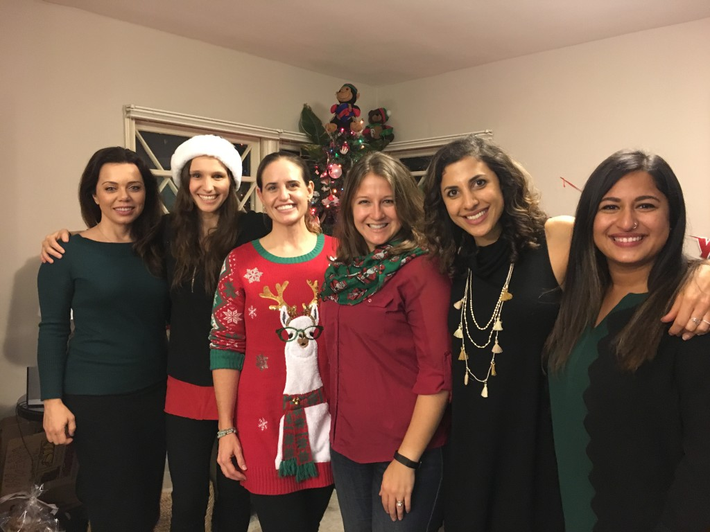 Holiday parties with more friends!