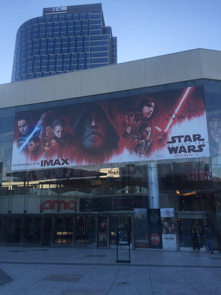 Aaaand immediately the next morning we went to Star Wars (again)