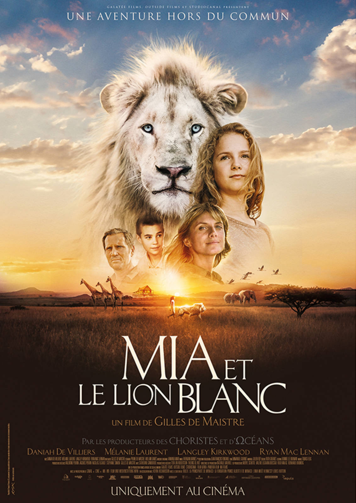 Mia and the White Lion (Movie Review) - hungry and fit